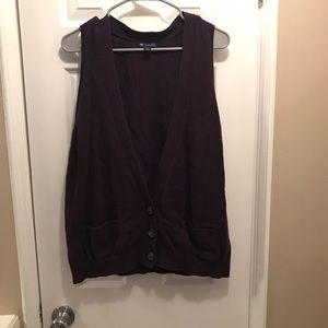 Cute Purple Sweater Vest